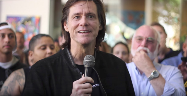 Jim Carrey Spoke Really Powerful On Christ, Suffering & Salvation