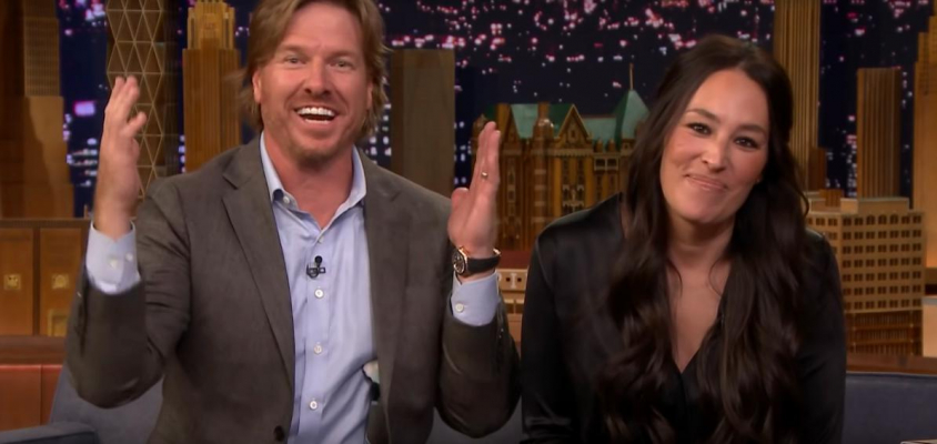 Chip and Joanna Gaines on The Tonight Show with Jimmy Fallon (Screenshot: YouTube)