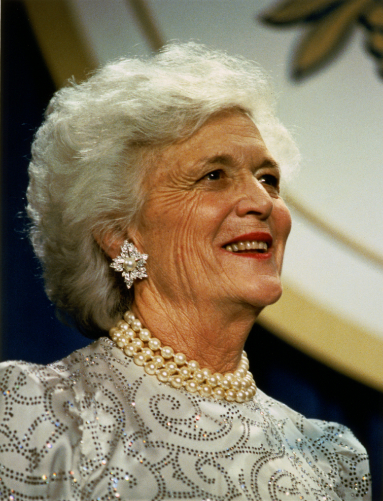 Barbara Bush (Library Of Congress)