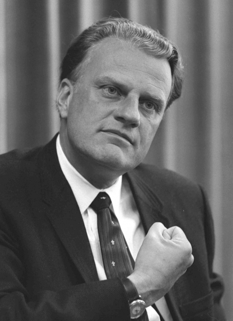 Billy Graham (Wikimedia Commons)