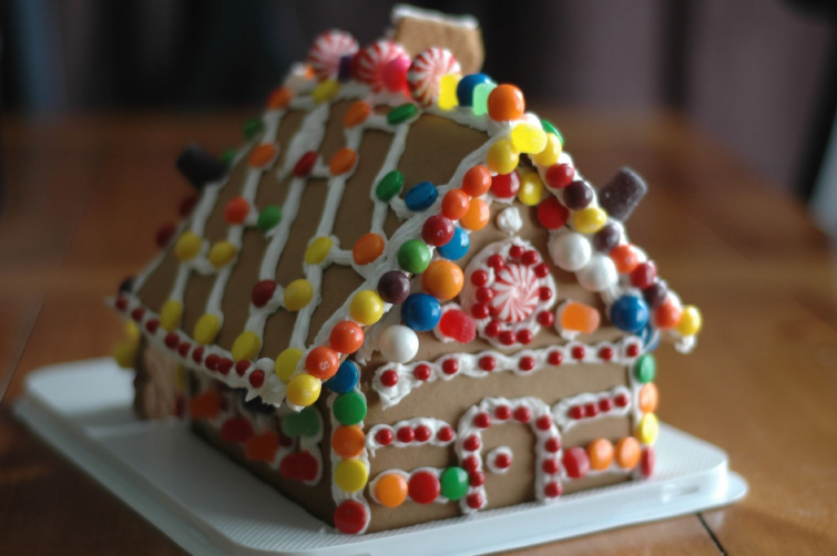 Gingerbread House (Photo: Carrie Stephens)