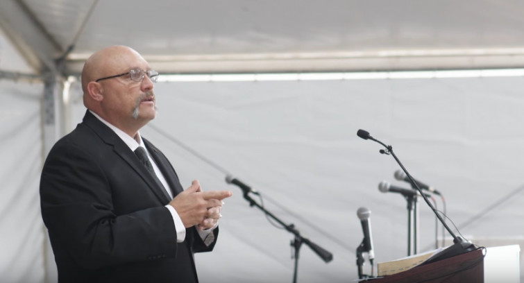 Pastor Frank Pomeroy of the Sutherland Springs First Baptist Church (YouTube)