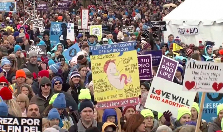 2019 March For Life Rally (Photo: YouTube)