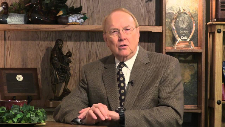 james dobson (Source: Youtube)